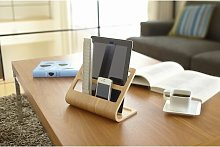 Plywood Tablet and Remote Control Rack Desk