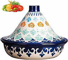 PLYY Moroccan Cooking Tagine Pot with Lid - Tajine