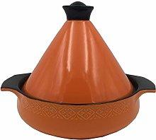 PLYY Moroccan Tagine Pot With Lid - Enamel Lid Pot