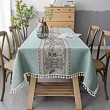 PLYY Tablecloths Rectangular Elegant Printed
