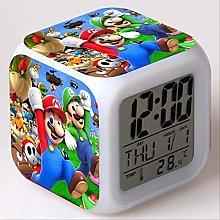 PMFS Kids Alarm Clock Led Light Color Change Super