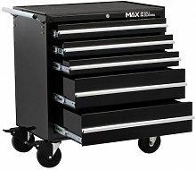 PMT110 Professional 5 Drawer Rollaway Cabinet -