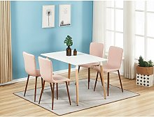 Pn Home - Marco & Halo Dining Set   Modern Dining