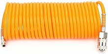 Pneumatic Hose - 7.5M Orange Flexible PE Pneumatic