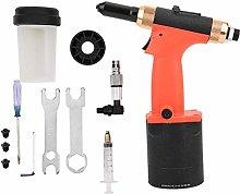 Pneumatic Riveters, 2.4-4.8mm Nut Tool, Hydraulic