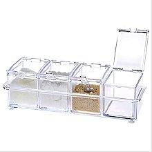 PNNIR Crystal Seasoning Acrylic Spice Dispenser