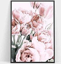PO-decor Artwork PaintingNordic Flowers Posters