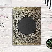 PO-decor wall art Circle Pattern Gold Posters