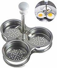 Poached Egg Pan, Egg Poacher, Egg Boiler Cooker,
