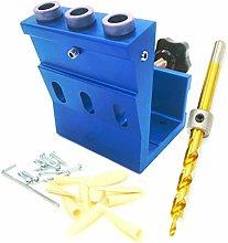 Pocket Hole Jig Kit, 15 Degree 3 Holes Woodwork