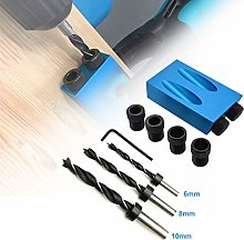 Pocket Hole Jig Set, TOPAUP 14Pcs Pocket Hole