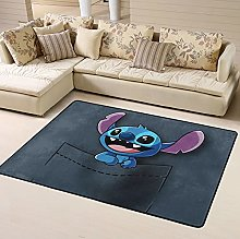 Pocket Stitch Cartoon Area Rug Floor Rugs Living