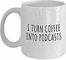 Podcaster Gift Idea Podcasting Coffee Mug Funny