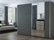 Podgorni 2 Door Sliding Wardrobe Wade Logan