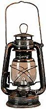 POFET Vintage Storm Lantern Lights Oil Lamp