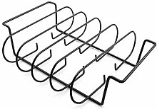 POHOVE 4 In 1 Stainless Steel Roasting Stand,