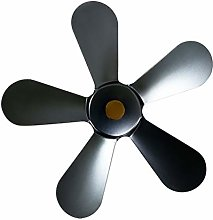 POHOVE 5-Blades Fireplace Replacement Fan