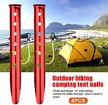 POHOVE 6X Snow and Sand Tent Stakes Pegs,Camping