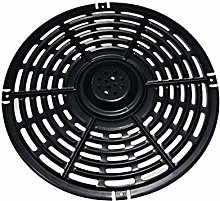 POHOVE 7/8inch Air Fryer Grill Pan Nonstick Carbon