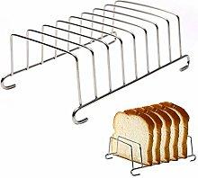 POHOVE 8 Slice Toast Rack,Stainless Steel Toast
