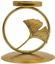 POHOVE Candlestick Holders Nordic Retro Tree Leaf