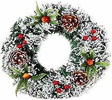 POHOVE Christmas Wreath Artificial Christmas