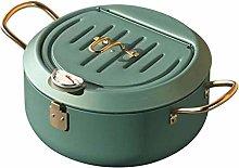 POHOVE Deep Fryer Steel Tempura Frying Pot