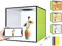 POHOVE Photo Studio Light Box 30/30cm Adjustable