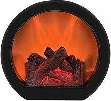 POHOVE Simulation Fireplace Lantern,Realistic Led