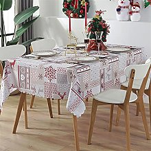POIIUYY Tablecloth Home Waterproof Tablecloth for