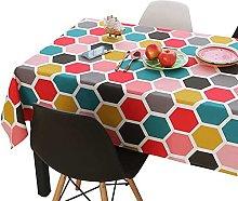POIIUYY Tablecloth Wedding Rectangular Tablecloth