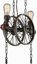Pointhx Industrial LOFT Vintage Retro Wheel