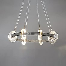 Pointhx LED Modern Crystal Chandeliers LED Ceiling