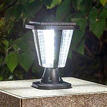 Pointhx Outdoor Solar Pillar Lights - Acrylic