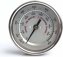 POIUY Grill Thermometer waterproof large face of