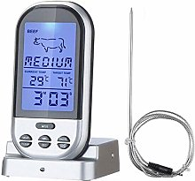 POIUY Touch screen LED digital meat thermometer
