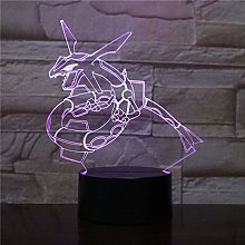 Pokemon Figure Night Light,led Color Changing