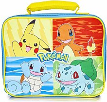Pokémon Lunch Box | Blue Lunch Bag For Kids And