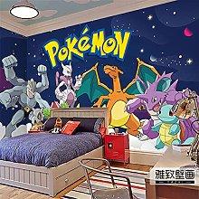 Pokémon Wallpaper Pikachu Wallcovering Cartoon