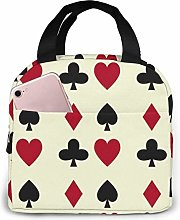 Poker Cards Casino Gambling Reusable Insulated