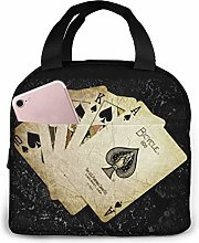 Poker Portable Lunch Bag Insulated Cooler Bag for