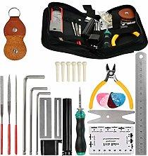 POKIENE Guitar Maintenance and Repair kit, 26Pcs
