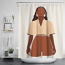 POKUJ Shower curtainNew Nordic famous painting