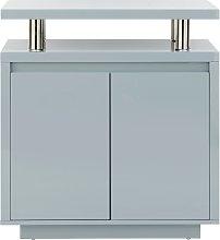 Polar 2 Door Sideboard - Grey Gloss