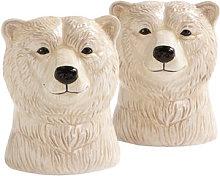 Polar bear Salt & pepper shaker set - /