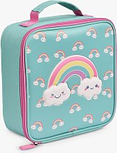 Polar Gear Rainbow Cooler Lunch Bag, Blue/Multi