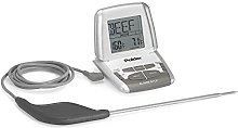Polder Deluxe Preset Thermometer with Ultra Probe,