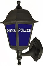 Police Style Replica Outside Wall Light - Lantern