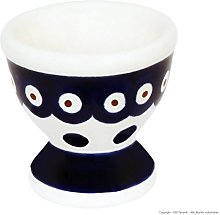 Polish Pottery Boleslawiec Egg Cup, in POLKA