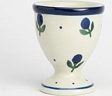 Polish Pottery Egg Cup - Sloeberry